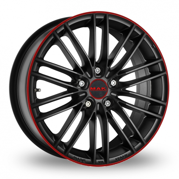 Zoom MAK Rapide Black_Red Alloys