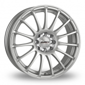 Image for Calibre Rapide Silver Alloy Wheels