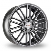 Image for MAK Rapide Hyper_Silver Alloy Wheels