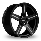 Image for Fondmetal STC-01 Black_Milled Alloy Wheels