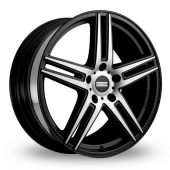 Image for Fondmetal STC-05 Black_Polished Alloy Wheels