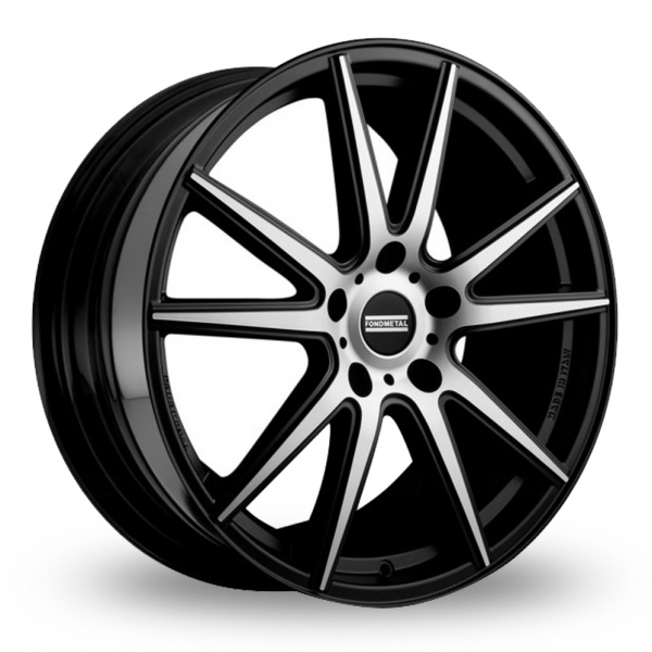 Zoom Fondmetal STC-10 Black_Polished Alloys