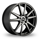 Image for Fondmetal STC-10 Matt_Titanium_Polished Alloy Wheels