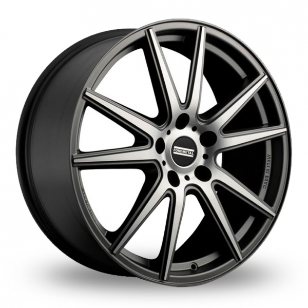 Zoom Fondmetal STC-10 Matt_Titanium_Polished Alloys