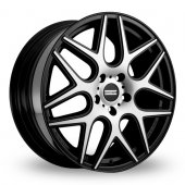 Image for Fondmetal STC-MS Black_Polished Alloy Wheels