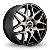 Image for Fondmetal STC-MS Matt_Titanium_Polished Alloy Wheels
