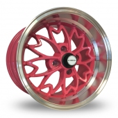 Image for Zito Sakura Pink Alloy Wheels