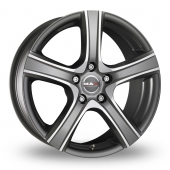 Image for MAK Score Graphite_Polished Alloy Wheels