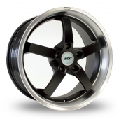 Image for ZCW Shift Black Alloy Wheels