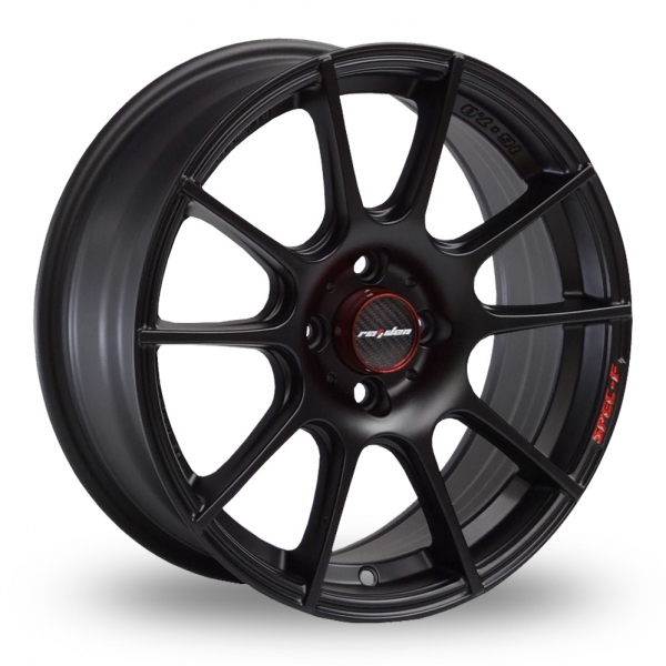Zoom Samurai Spec_F Matt_Black Alloys