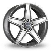 Image for MAK Stern Silver Alloy Wheels