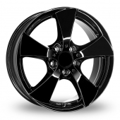 Image for Borbet TB Black Alloy Wheels