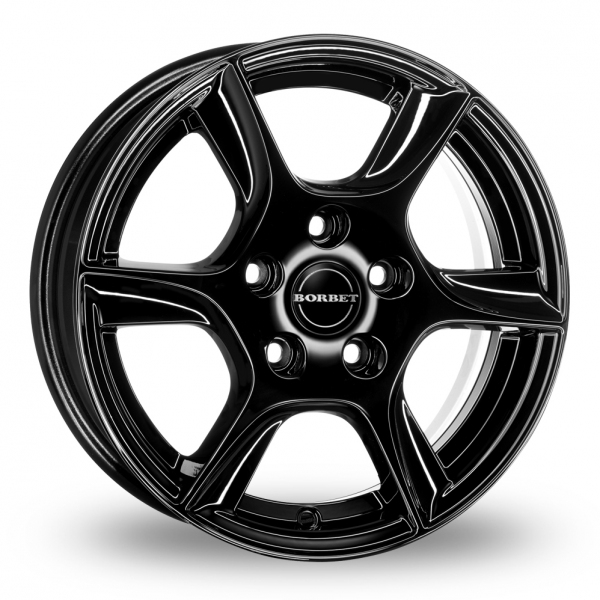 Zoom Borbet TL Black Alloys