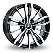 Image for Fondmetal TPG1 Black_Polished Alloy Wheels