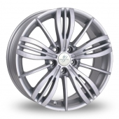 Image for Fondmetal TPG1 Silver Alloy Wheels