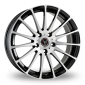 Image for Wolfrace Turismo Black_Polished Alloy Wheels