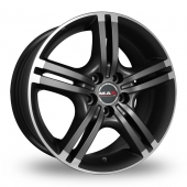 Image for MAK Veloce Anthracite_Polished Alloy Wheels