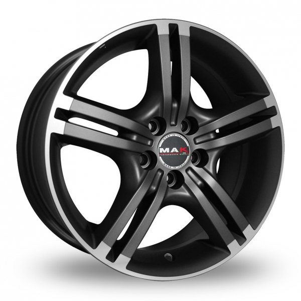 Zoom MAK Veloce Anthracite_Polished Alloys