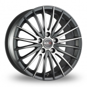 Image for MAK Venti Anthracite_Polished Alloy Wheels