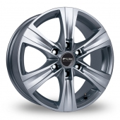 Image for Fox_Racing Viper_Van_3 Silver Alloy Wheels