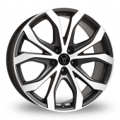 Image for Wolfrace W10 Black_Polished Alloy Wheels