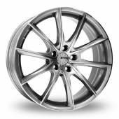 Image for ZCW WF03 Silver_Polished Alloy Wheels