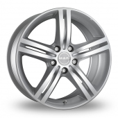 Image for MAK Veloce Silver Alloy Wheels