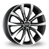 Image for MAK Wolf Gun_Metal_Polished Alloy Wheels
