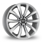 Image for MAK Wolf Silver Alloy Wheels