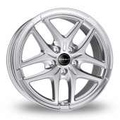 Image for Borbet XB Silver Alloy Wheels