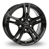 Image for Borbet XLB Black Alloy Wheels