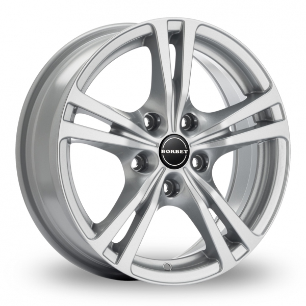 Zoom Borbet XLB Silver Alloys