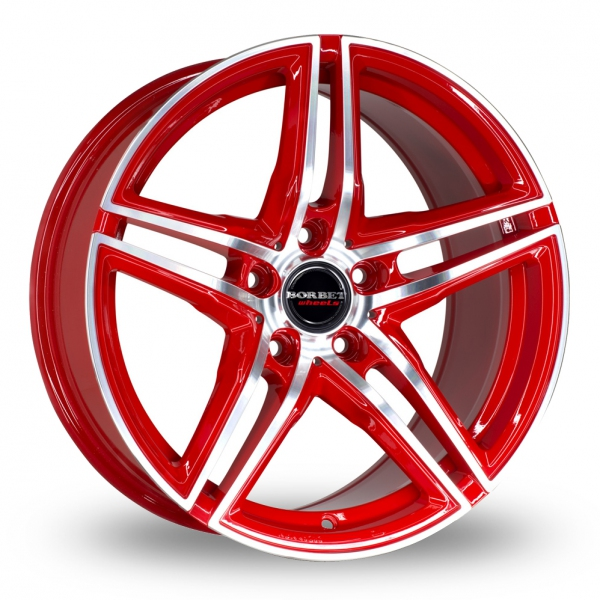 Zoom Borbet XRT Red Alloys