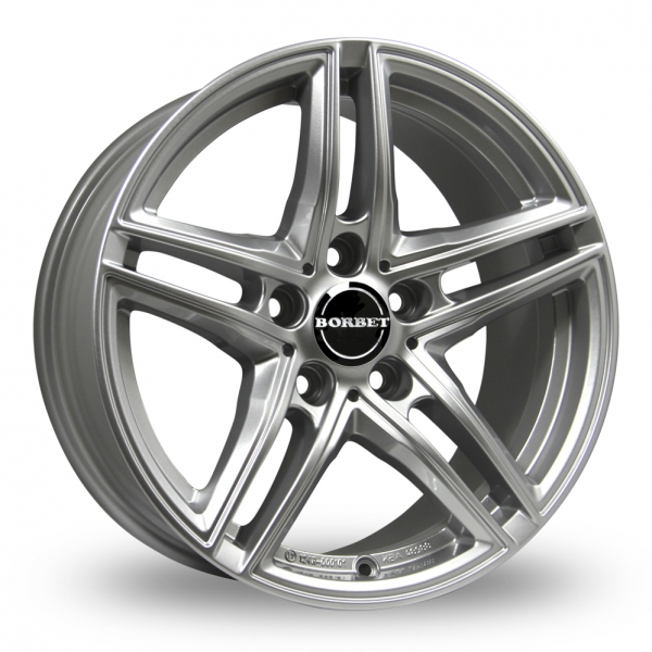 Zoom Borbet XRT_Wider_Rear Silver Alloys