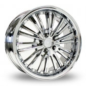 Image for ZCW 5765 Chrome Alloy Wheels