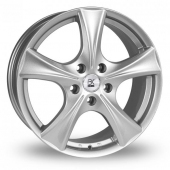 Image for BK_Racing 670 Silver Alloy Wheels