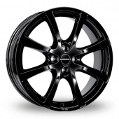 Image for Borbet LV4 Black Alloy Wheels