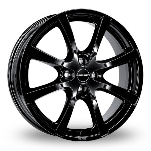 Zoom Borbet LV4 Black Alloys