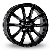 Image for Borbet LV5 Black Alloy Wheels