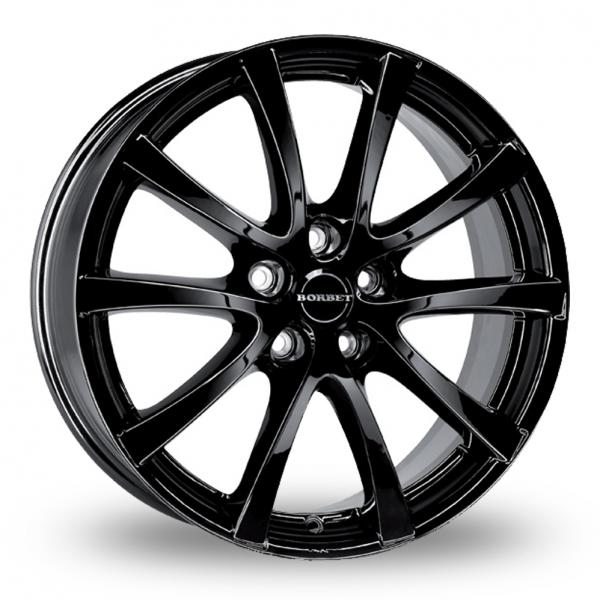 Zoom Borbet LV5 Black Alloys