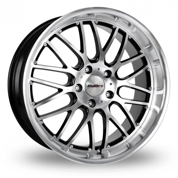 Zoom Calibre Spur_5x112_Wider_Rear Black_Polished Alloys