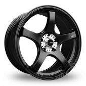 Image for Konig Centigram_Wider_Rear Matt_Black Alloy Wheels