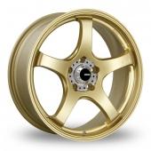 Image for Konig Centigram_Wider_Rear Gold Alloy Wheels