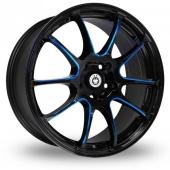 Image for Konig Illusion Black_Blue Alloy Wheels