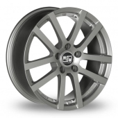 Image for MSW_(by_OZ) 22 Grey Alloy Wheels