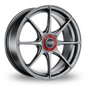 Image for OZ_Racing Formula_HLT_4_Stud Grigio_Corsa Alloy Wheels