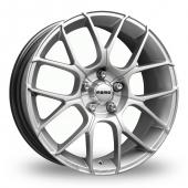 Image for Momo Raptor Hyper_Silver Alloy Wheels