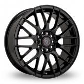 Image for Wolfrace Bayern Black Alloy Wheels