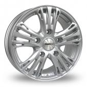 Image for Calibre Odyssey Silver Alloy Wheels