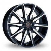 Image for Wolfrace Raptor Black_Polished Alloy Wheels